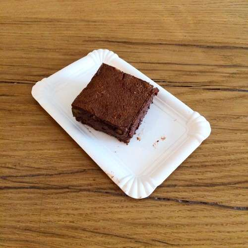 Brownies chocolat et Noix Boissons